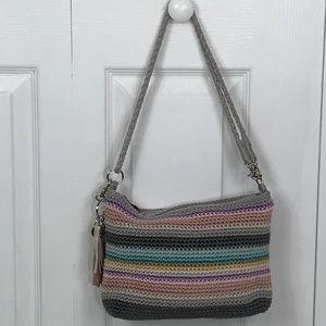 The Sak Shoulderbag Multi Color Crochet Purse